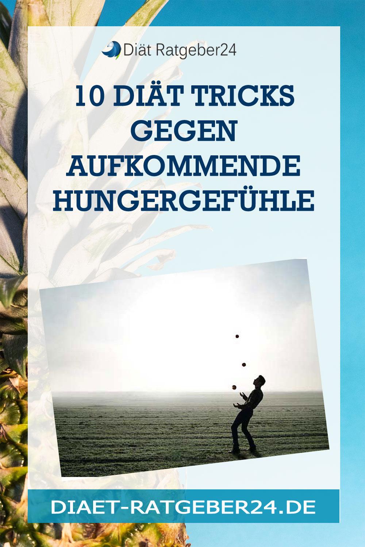 10 Diät Tricks gegen aufkommende Hungergefühle