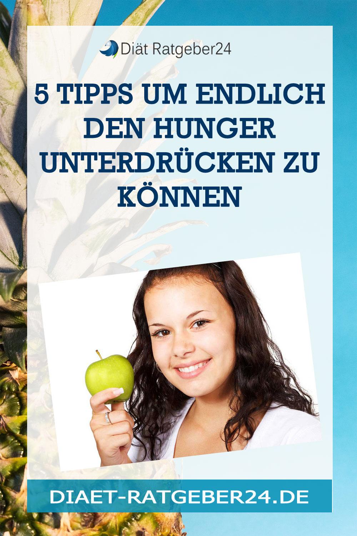 5 Tipps um endlich den Hunger unterdrücken zu können