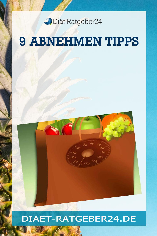 9 Abnehmen Tipps