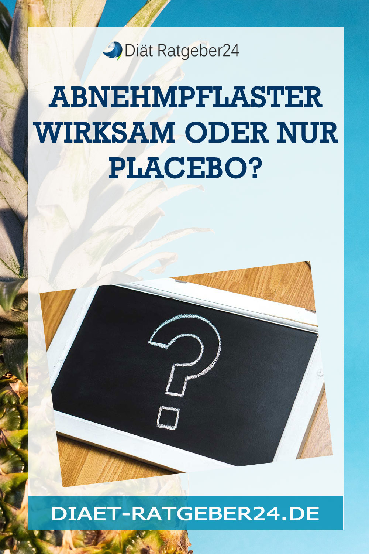 Abnehmpflaster Wirksam oder nur Placebo?
