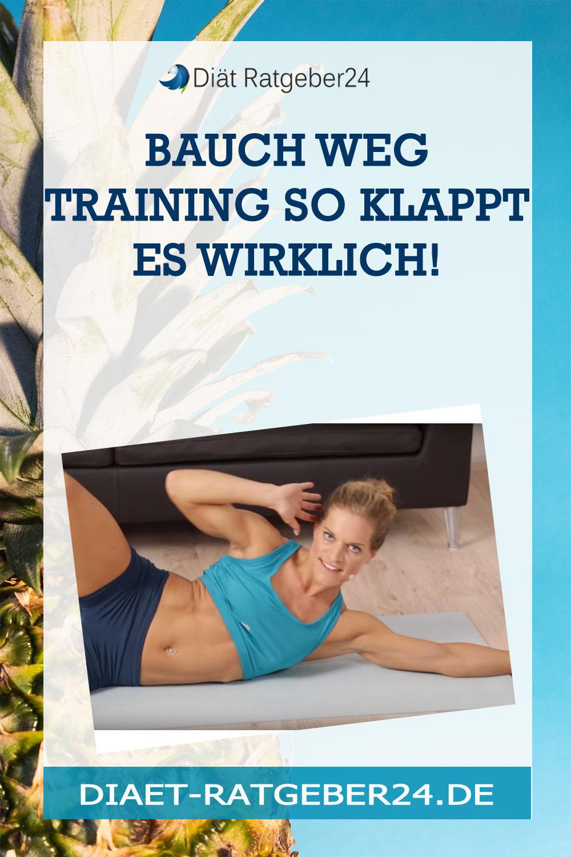 Bauch weg Training So klappt es wirklich!