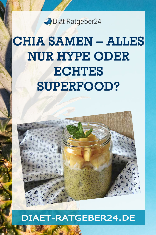 Chia-Samen – alles nur Hype?