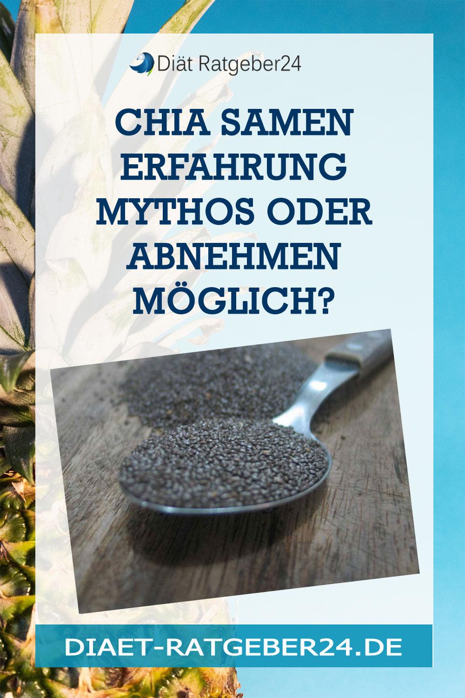 Chia Samen Erfahrung Mythos oder abnehmen möglich?