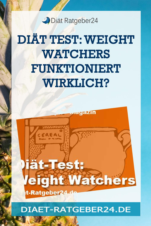 Diät Test: Weight Watchers funktioniert wirklich?