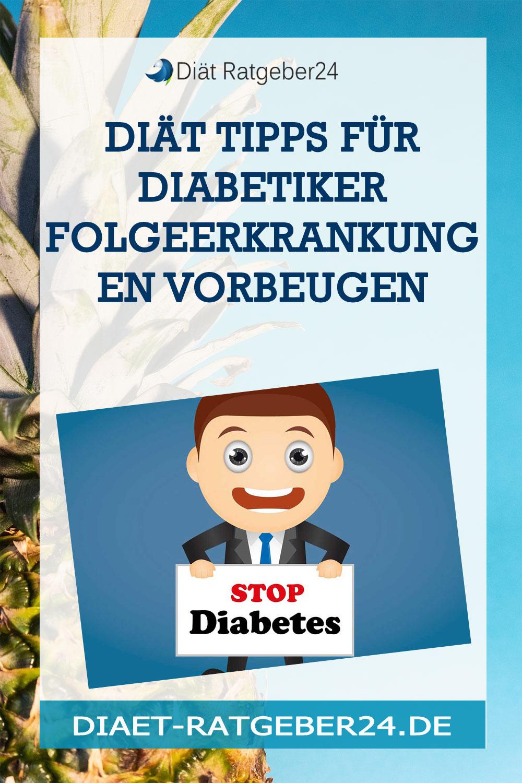 Diät Tipps für Diabetiker Folgeerkrankungen vorbeugen