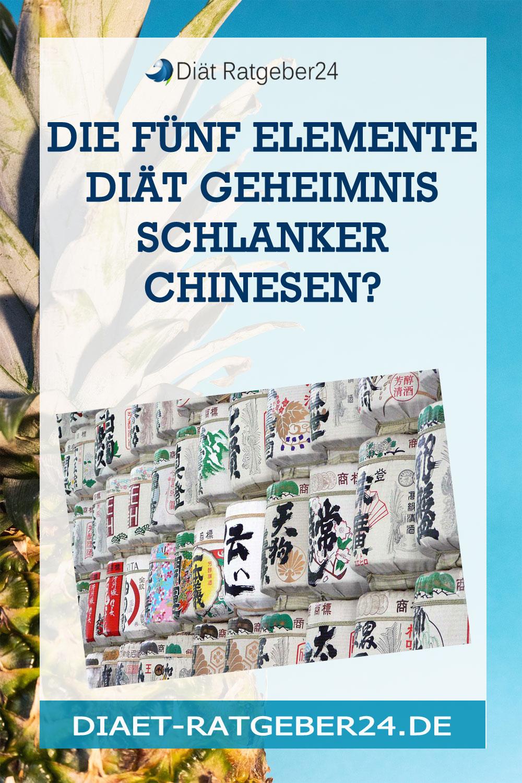 Die Fünf Elemente Diät Geheimnis schlanker Chinesen?