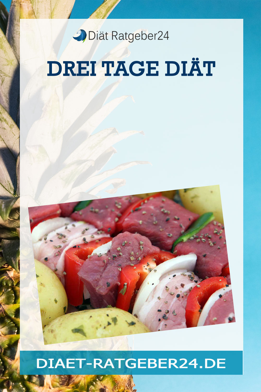 Drei Tage Diät