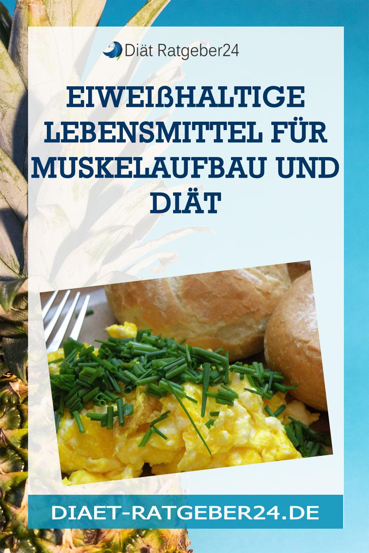 Eiweißhaltige Lebensmittel für Muskelaufbau und Diät