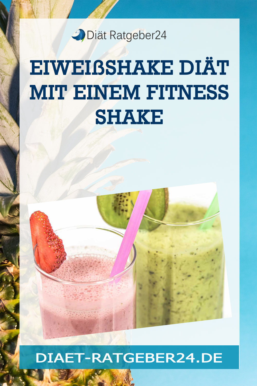 Eiweißshake Diät mit einem Fitness Shake