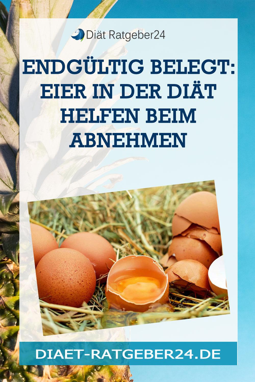 Endgültig belegt: Eier in der Diät helfen beim Abnehmen