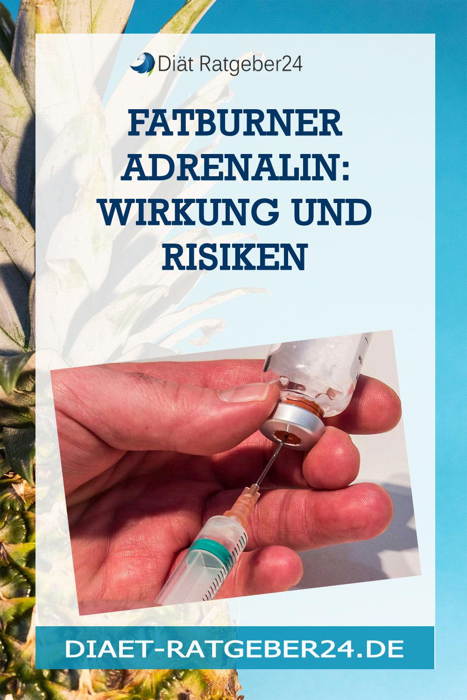 Fatburner Adrenalin: Wirkung und Risiken