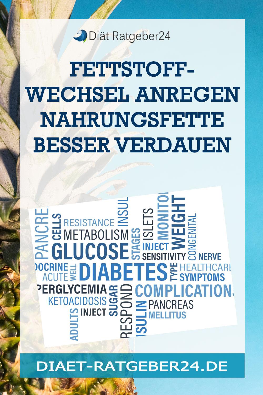 Fettstoffwechsel anregen Nahrungsfette besser verdauen