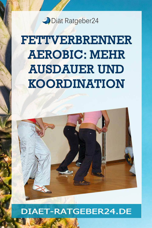 Fettverbrenner Aerobic: mehr Ausdauer und  Koordination