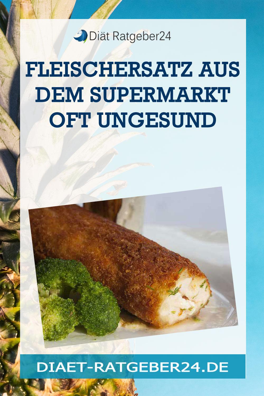 Fleischersatz aus dem Supermarkt oft ungesund