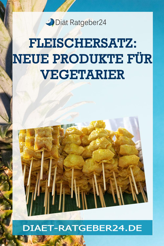 Fleischersatz: neue Produkte für Vegetarier