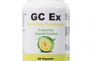 GC Ex Garcinia Cambogia Extract Fatburner Diät