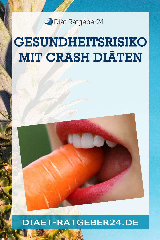Gesundheitsrisiko mit Crash Diäten