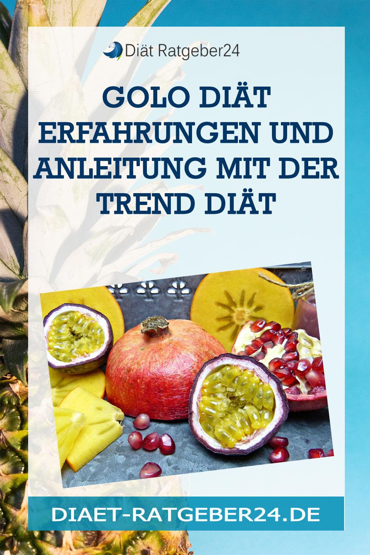 Golo Diät Erfahrungen und Anleitung mit der Trend Diät
