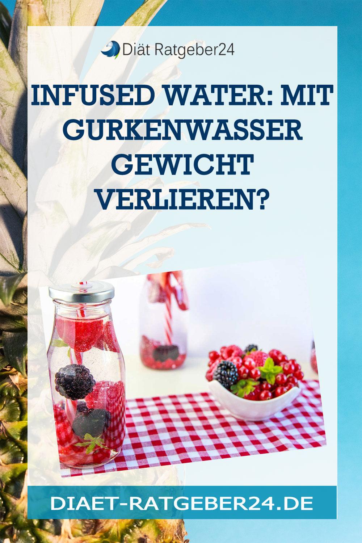 Infused Water: Mit Gurkenwasser Gewicht verlieren?