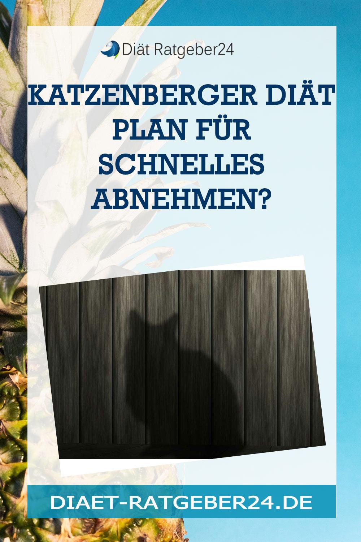 Katzenberger Diät Plan für schnelles abnehmen?
