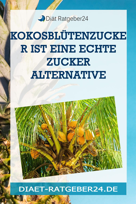 Kokosblütenzucker ist eine echte Zucker Alternative