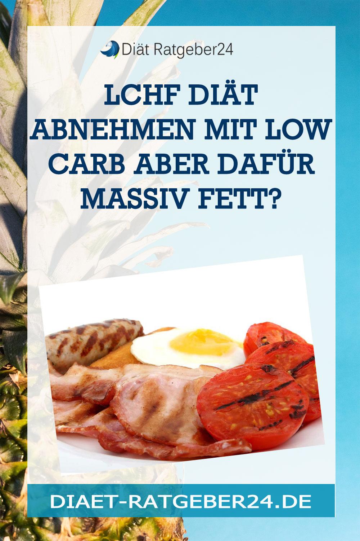 LCHF Diät Abnehmen mit Low Carb aber dafür massiv Fett?