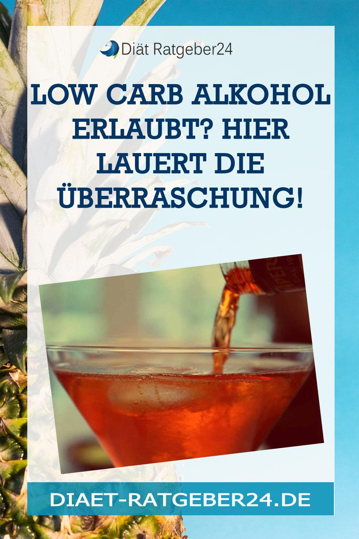 Low Carb Alkohol erlaubt? Hier lauert die Überraschung!