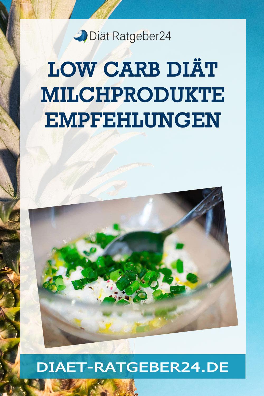 Low Carb Diät Milchprodukte Empfehlungen