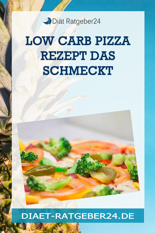 Low Carb Pizza Rezept das schmeckt