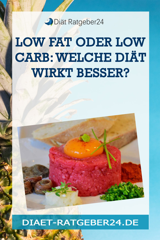 Low Fat oder Low Carb: Welche Diät wirkt besser?