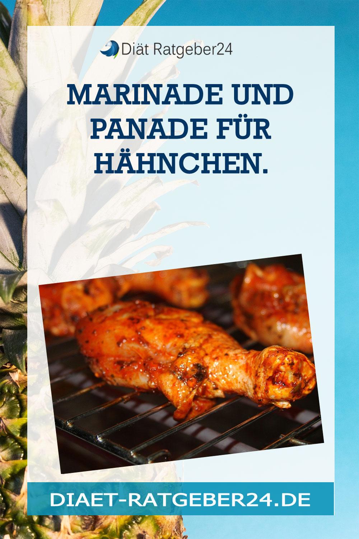 Marinade und Panade für Hähnchen.