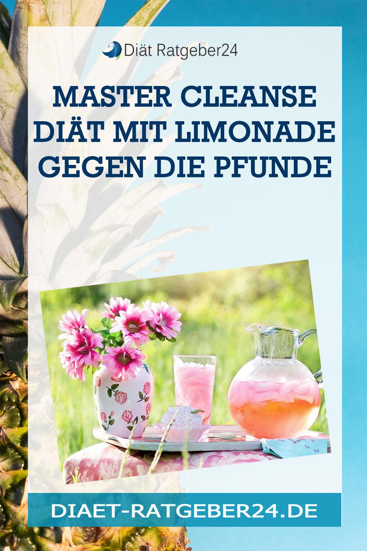 Master Cleanse Diät mit Limonade gegen die Pfunde