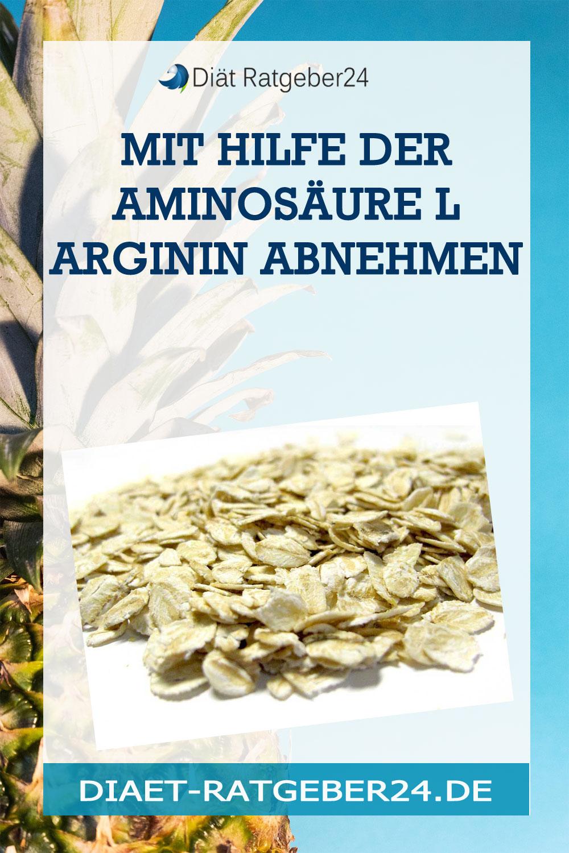 Mit Hilfe der Aminosäure L Arginin abnehmen