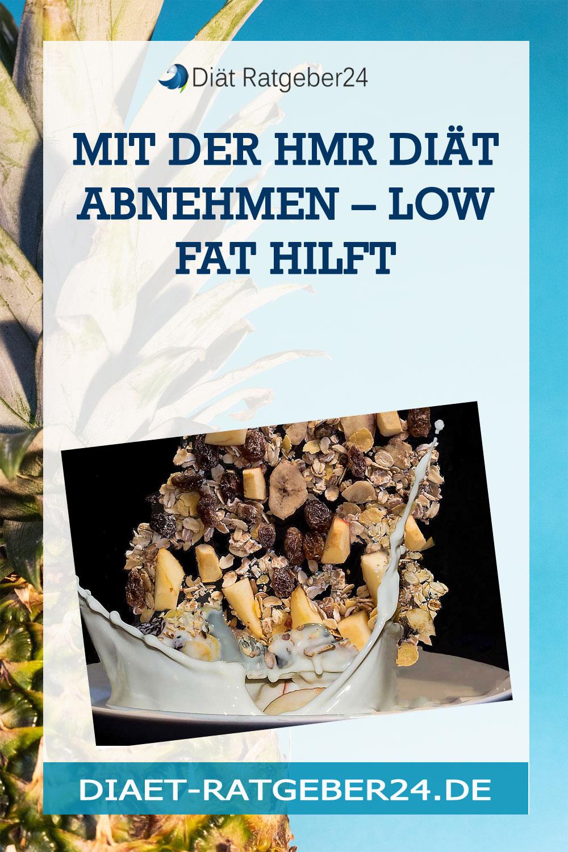 Mit der HMR Diät abnehmen – Low Fat hilft