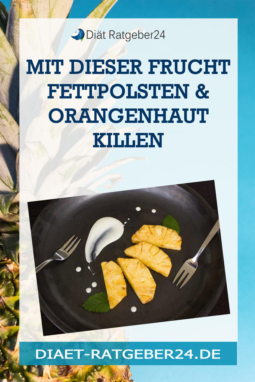 Mit dieser Frucht Fettpolsten & Orangenhaut killen