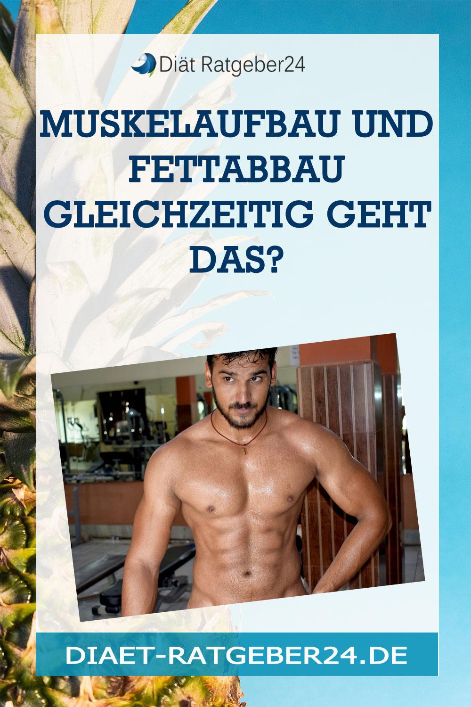 Muskelaufbau und Fettabbau gleichzeitig – Wie genau geht das?