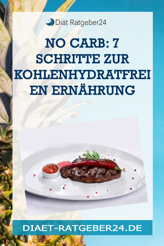 No Carb: 7 Schritte zur Kohlenhydratfreien Ernährung
