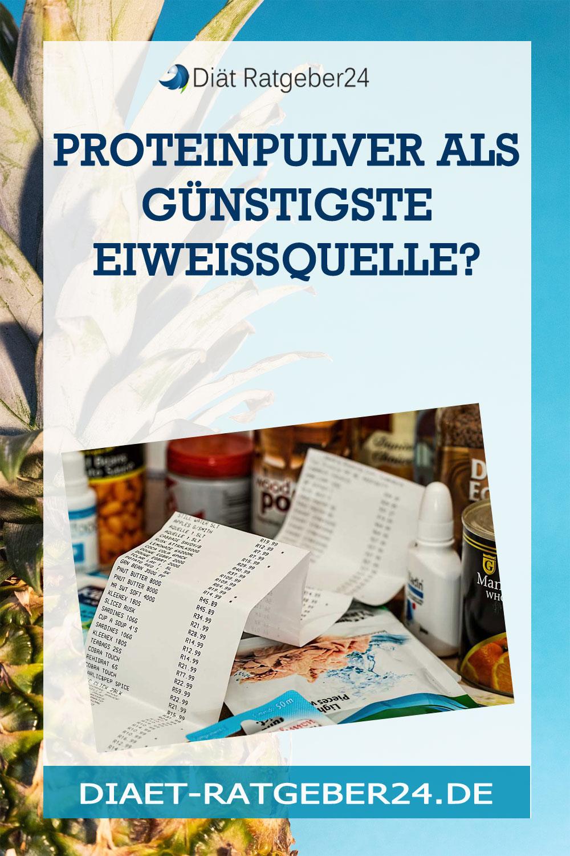 Proteinpulver als günstigste Eiweissquelle?