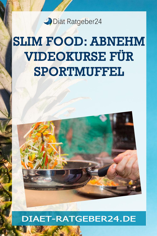 SLIM FOOD: Abnehm Videokurse für Sportmuffel
