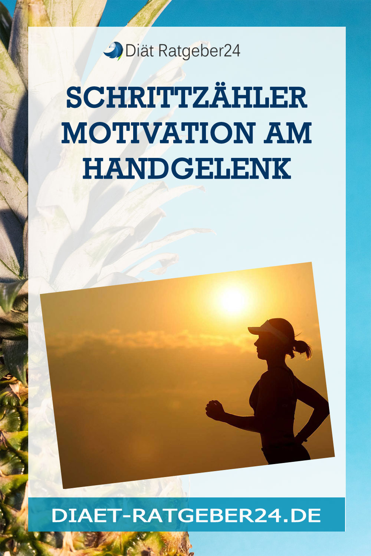 Schrittzähler Motivation am Handgelenk