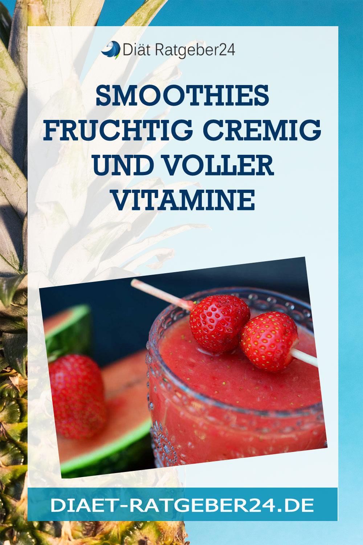Smoothies fruchtig cremig und voller Vitamine