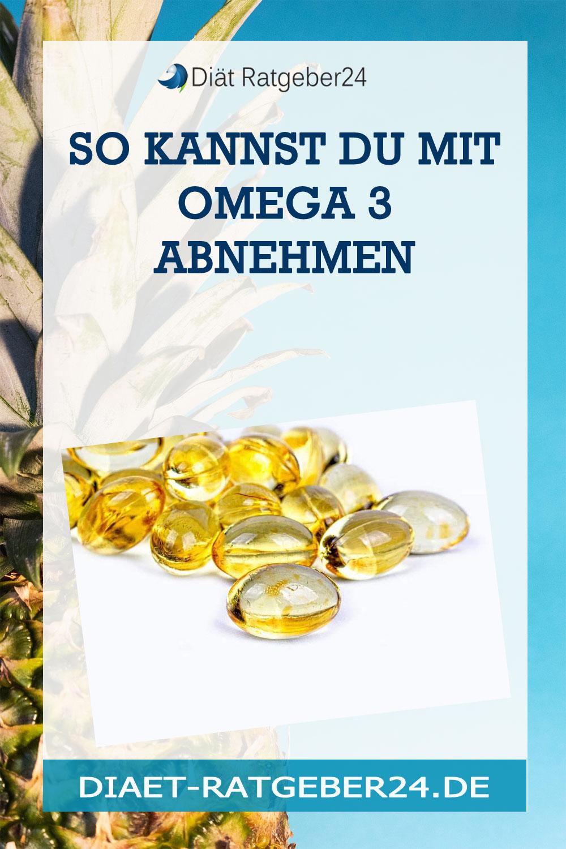 So kannst Du mit Omega 3 abnehmen