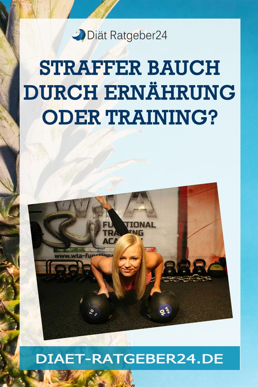 Straffer Bauch Durch Ernährung oder Training?
