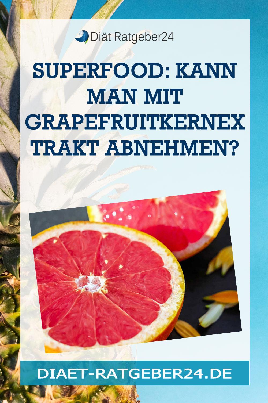 Superfood: Kann man mit Grapefruitkernextrakt abnehmen?
