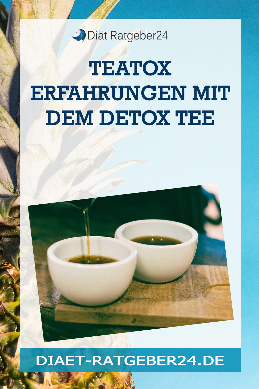 Teatox Erfahrungen mit dem Detox Tee