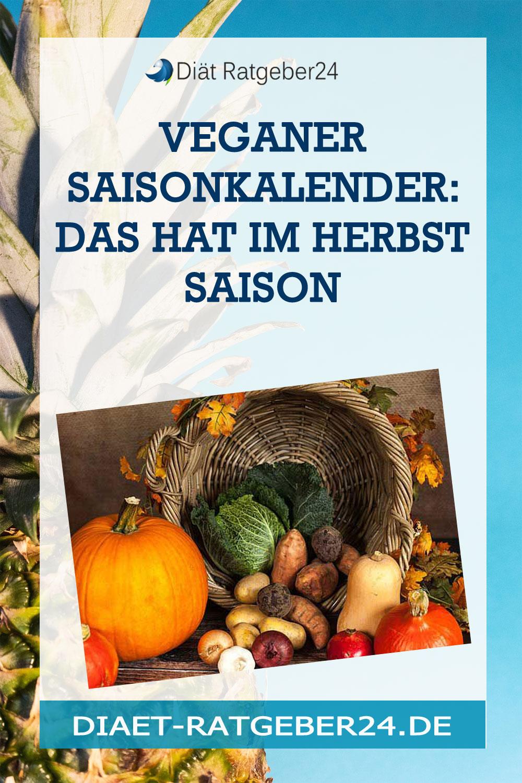 Veganer Saisonkalender: Das hat im Herbst Saison