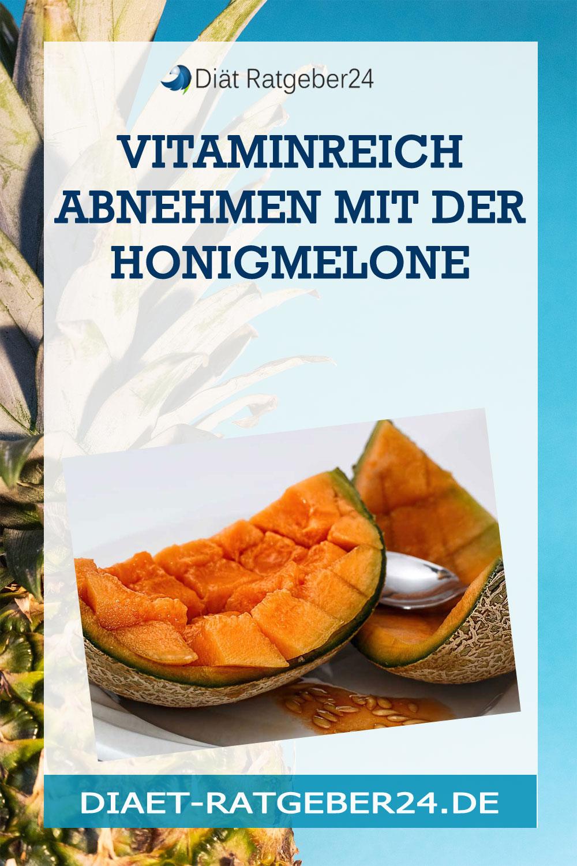 Vitaminreich Abnehmen mit der Honigmelone