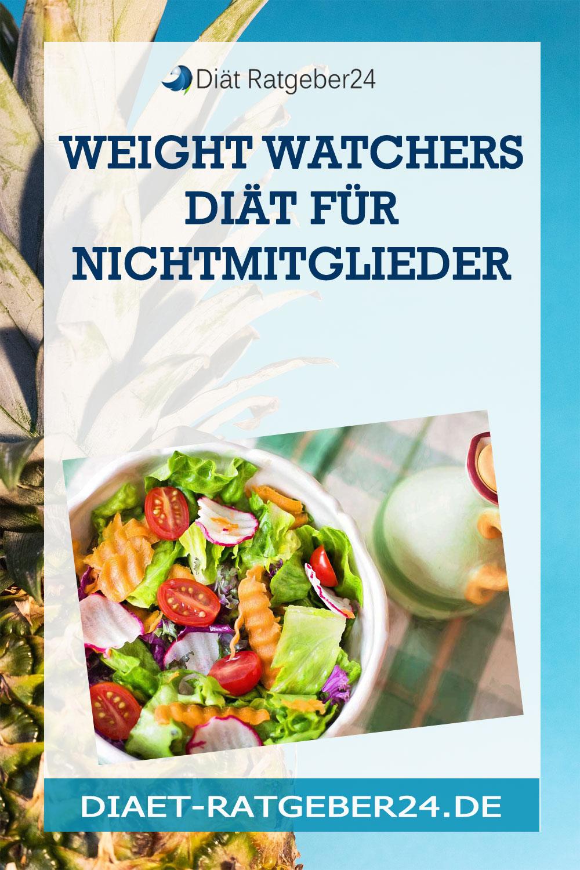 Weight Watchers Diät für Nichtmitglieder