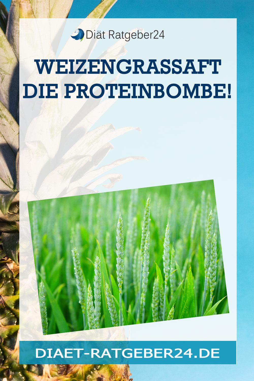 Weizengrassaft die Proteinbombe!
