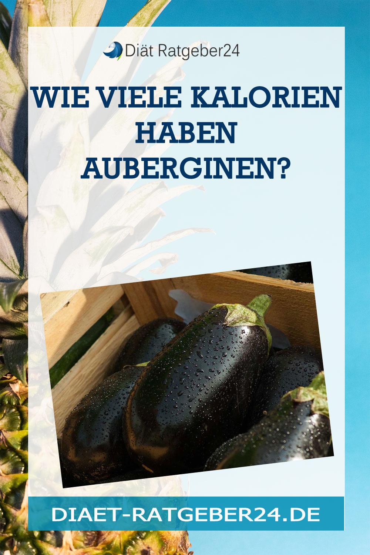 Wie viele Kalorien haben Auberginen?